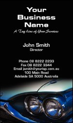 Business Card Design 761 for the Automotive Industry.