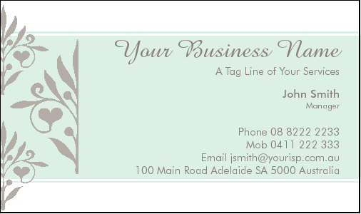 Business Card Design 2769