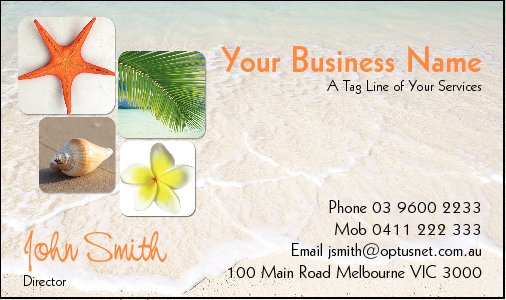 Business Card Design 3427
