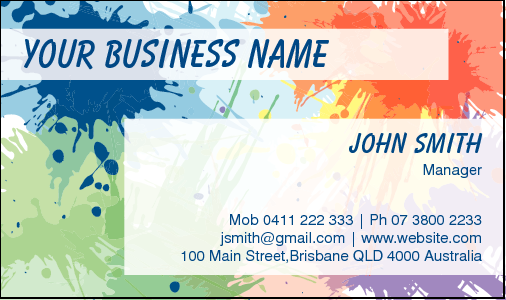 Business Card Design 4668