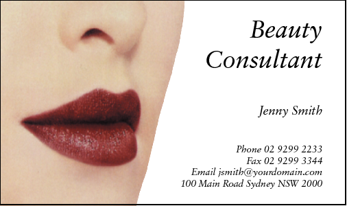 Business cards for cosmetics business card design 223 for the cosmetic industry colourmoves