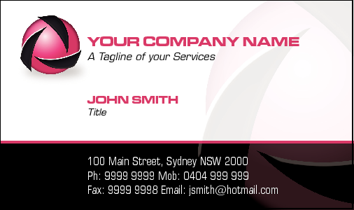 Business Card Design 2125