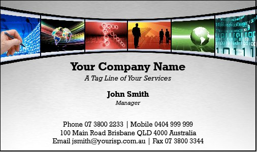 Business Card Design 2233
